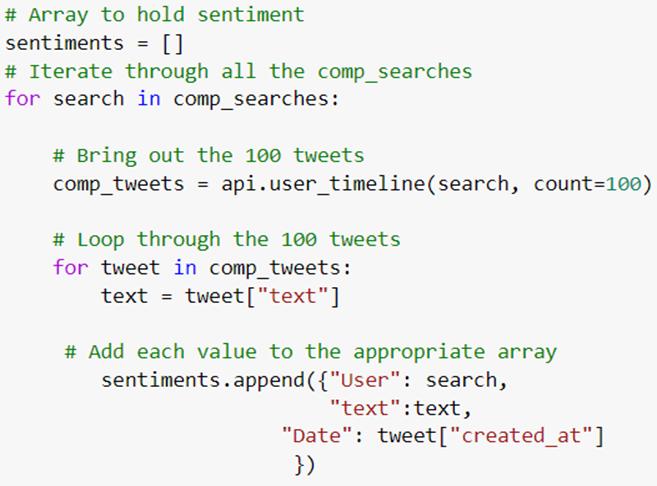 extracting twitter data using python